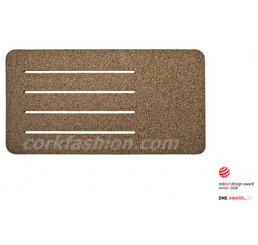 Cork Bath Mat - Plan (model SD-21.03.06) from the manufacturer Simpleformsdesign in category Bathroom